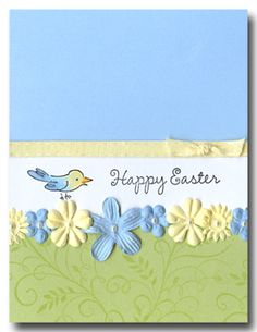Hero Arts Cardmaking Idea: Happy Easter Bird
