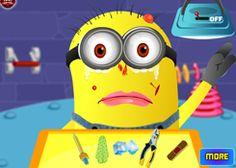 JuegosdeMinion.com - Juego: Doctor de Minion - Jugar Juegos Gratis Online Flash