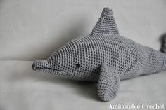 Dolphin Amigurumi ~ Free Pattern