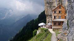Acantilado Ascher, Suiza