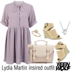 Lydia Martin insired outfit-TW