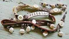 Stitched: bracelet that wraps by Nina Bagley