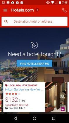 Hotels.com – Hotel Reservation Screenshots