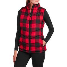 Women's Puffer Vest - Walmart.com