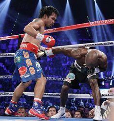 Manny Pacquiao vs. Timothy Bradley Jr. Bradley wasand I'd no where near pacs level