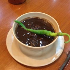 All-meat dinuguan at Mang Inasal in Cebu, Philippines