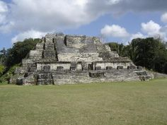 Altun Ha Mayan site, Belize. (December 2009)