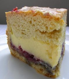 Gateau Basque - sort of a mix between a pie and cake with pastry cream and jam.