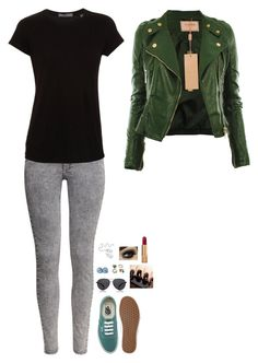 """Untitled #147"" by miahallows ❤ liked on Polyvore featuring H&M, Vince, Vans, The Row and Chanel"