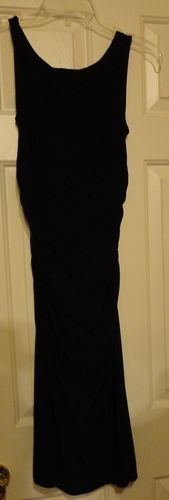 Vintage Stunning NORMA KAMALI Little Black Tight Stretch Dress Medium