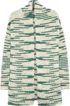 metallic-flecked cardigan missoni, via www.net-a-porter.com