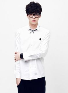 Ahn Jae Hyun. Yes I know he's Korean, but I feel like this looks is also common…