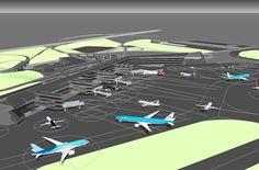 Academic Project, 2016 International Airport in Luziania, Goias, Brazil