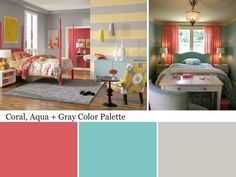 Coral Color Palette in Colors We Love: Coral from HGTV