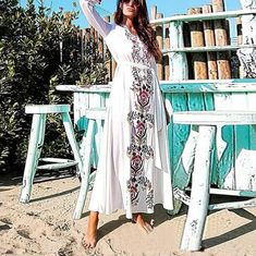Fake Wind Bohemian Dress Print Lace Dress – lovejewelryacc maxi dress casual summer maxi outfits fall maxi dress outfit summer maxi casual #maxidresscasual #longmaxidress #maxiskirtstyles #summermaxidresses Maxi Outfits, Summer Dress Outfits, Casual Summer Dresses, Dress Casual, Maxi Dresses, Floral Maxi Dress, Lace Dress, Summer Maxi, Dress Brands