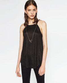 Imagem 1 de TOP CORRENTE da Zara