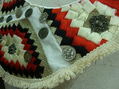Neckline Applique Embellishment Necklace Multicolor par fabricdepo, $16,50