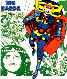 Big Barda by Jack Kirby