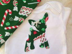 Baby Christmas Deer Outfit Christmas Shirt for by OurMasonsJar