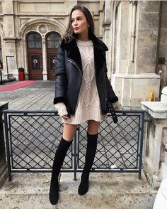 Screamin x Outfits Winter Mode Outfits, Winter Fashion Outfits, Autumn Winter Fashion, Fall Outfits, Cute Outfits, Fashion Mode, Womens Fashion, Fashion Trends, Fashion News
