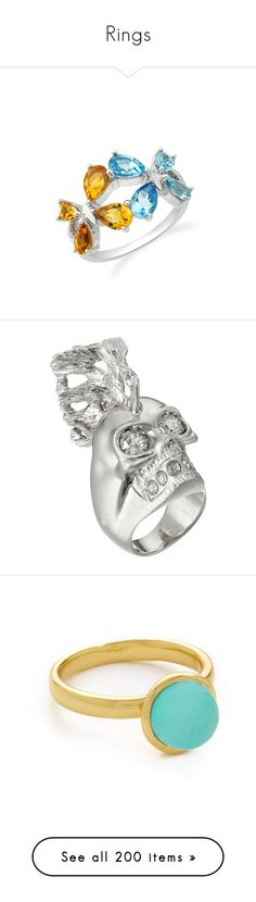 """""""Rings"""" by sarahlynnmurphy ❤ liked on Polyvore featuring jewelry, rings, purple butterfly ring, purple butterfly jewelry, purple jewelry, sterling silver amethyst jewelry, butterfly ring, silver, skull jewelry and alexander mcqueen ring"""