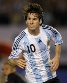 My favorite player, Lionel Messi