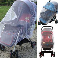 في عربة الأطفال عربة يدفع باليدين حشرات البعوض صافي شبكة الطفل الرضيع غطاء l07