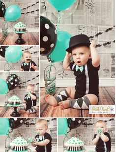 1 year old baby boy cake smash photos 1st Birthday Cake Smash, Baby Boy 1st Birthday, Boy Cake Smash, Cake Smash Outfit Boy, Smash Cakes, 1st Birthday Pictures, Birthday Ideas, Little Man Birthday Party Ideas, 1st Birthday Photoshoot