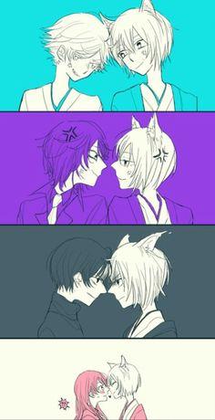 Kamisama Kiss- Tomoe vs Mizuki, Kurama, Kirihito, and Nanami #Anime