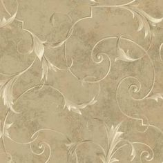 Brewster 8 in. W x 10 in. H Marble Scroll Wallpaper Sample-GK80803SAM at The Home Depot