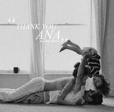 Ana Christian and Teddy :) https://www.pinterest.com/lilyslibrary/365-days-of-grey/ Sweet