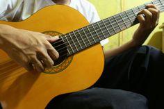 My Yamaha Classic Guitar and Me :3