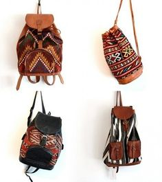 Tribal Backpacks | Isabella Indie Fashionista