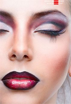 Beautiful and Dramatic.  For more information on professional makeup, contact denver@norcostco.com.  #theatre #theater #makeup