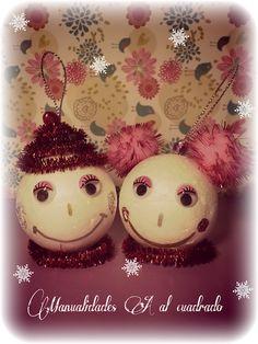 Christmas Crafts 2013: Adornos navideños para realizar con niños