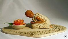 hauptsache keramik: Kniend