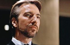 Although Rickman has played various roles over the years, many fans will remember him most as Professor Snape from the Harry Potter franchise and the villainous Hans Gruber from Die Hard. Best Movie Villains, Hans Gruber, Alan Rickman Movies, Gary Oldman, Ares, Action Film, Actors, The New Yorker, The Villain