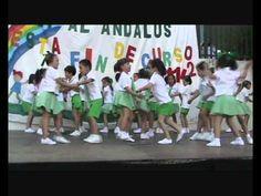 Fiesta de fin de curso colegio Ángel Campano de Gines - YouTube