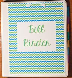 I wanted to create ONE location for all of our bills adn our budget sheets. Thus, the Bill Binder was born. Savings Planner, Budget Planner, Budgeting Finances, Budgeting Tips, Bill Binder, Agenda Planning, Budget Organization, Organizing Ideas, Budget Help