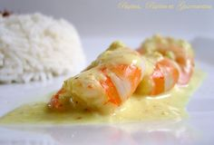 PLATS - COOKING CHEF:… CREVETTES AU SAFRAN… - Le blog de PP&G Cooking Chef Gourmet, Cuisine Diverse, Kitchenette, Sushi, Shrimp, Blog, Ethnic Recipes, Kenwood Chef, Table