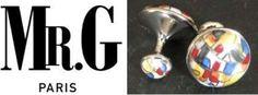 Pour la beauté du geste. Des boutons de manchette de créateur, en porcelaine, qui signent une allure d'esthète. Cadeau à offrir sous la forme d'un Bon Cadeau, pour laisser à la personne le soin de choisir elle-même son modèle. Service sur-mesure : http://www.gifting.fr/conciergerie.php