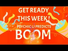 GET READY THIS WEEK ! PSYCHIC LJ PREDICTS BOOM WEEK ! PREDICTIONS 2021 . Get Ready, Youtube, Youtubers, Youtube Movies