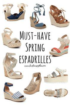 Must-Have Spring Espadrilles - Live Love Sophia