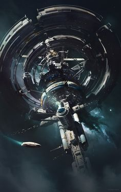 Beautiful Science Fiction, Fantasy and Horror art from all over the world. Futuristic City, Futuristic Technology, Technology News, Cyberpunk, Sci Fi Rpg, Sci Fi City, Alien Ship, Sci Fi Spaceships, Spaceship Design