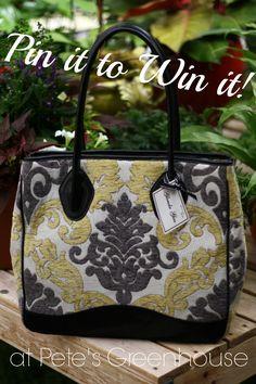 Win this Glenda Gies bag by repinning it! Retailed at $359!!!   #Pinittowinit #GlendaGies    Expires 7/25. Winner will be announced Saturday, 7/26.