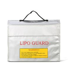 LiPo Battery Portable Explosion-Proof Safety Bag High Temperature Resistance