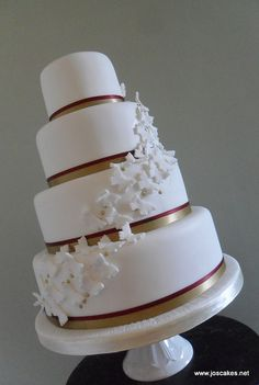 square wedding cakes 4 tier with gold   Recent Photos The Commons Getty Collection Galleries World Map App ...