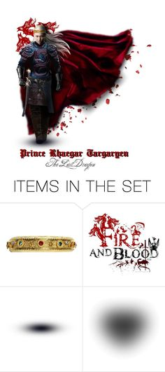 """""""🐉 Dreamcast for Prince Rhaegar"""" by annette-heathen ❤ liked on Polyvore featuring art, tomhiddleston and housetargaryen"""