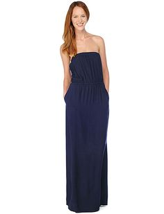 Strapless Maxi Dress, splendid.com