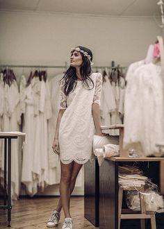 Laure de Sagazan | Robes de mariée | Collection Mariage civil